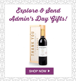 Explore And Send Admin's Day Gifts Shop Now