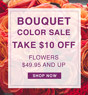 Bouquet Color Sale