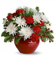 Flower Bouquets: Christmas Treasure Bouquet