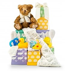 Baby Gift Baskets: New Arrival Baby Tower