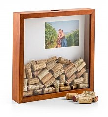 Gift Services Warehouse: Mom's Wine Cork Keeper Shadow Box