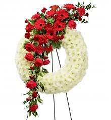 Funeral Flowers: Graceful Tribute Wreath