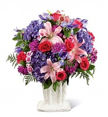 Funeral Flowers: We Fondly Remember Arrangement