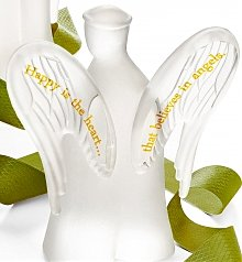 Personalized Keepsake Gifts: Your Message Engraved On An Angel's Wings