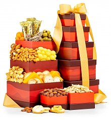 Gift Towers: Savory Snacks Tower