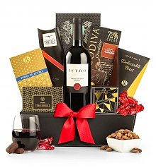 Wine Baskets: The 5th Avenue Classic