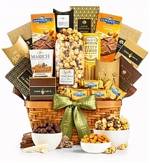 Gourmet Gift Baskets: As Good As Gold Grand