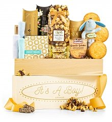 Personalized Keepsake Gifts: It's A Boy Personalized Crate