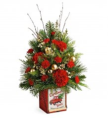 Flower Bouquets: Vintage Greetings Tree
