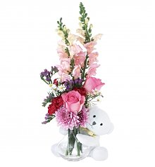 Flower Bouquets: Bear Hug the One You Love